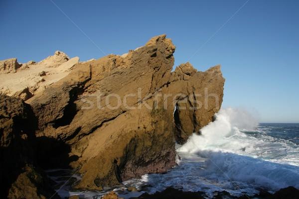 Sea and Rock Formation Stock photo © fouroaks