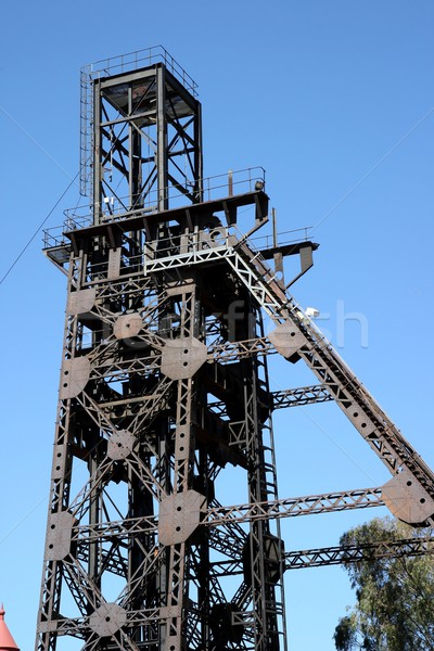 Mine Shaft Head Stock photo © fouroaks