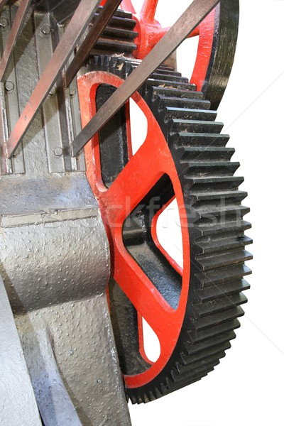 Gears and Pulley - Isolated Stock photo © fouroaks