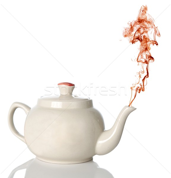 Tea Pot and Steam Stock photo © fouroaks