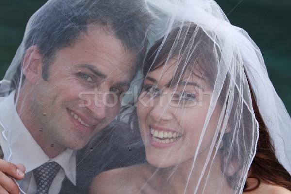 Wedding Couple Stock photo © fouroaks