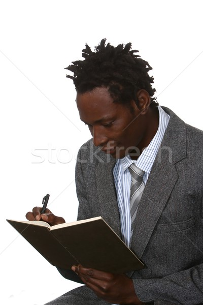 African American Businessman Stock photo © fouroaks