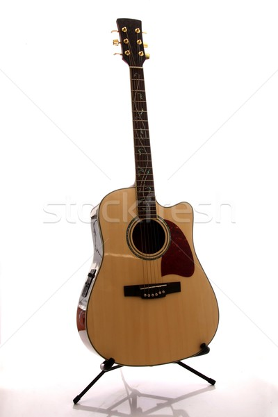 Accoustic Guitar Stock photo © fouroaks