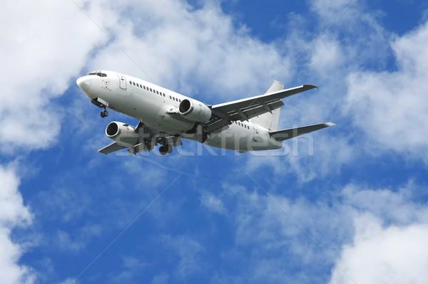 Passenger Jet Aeroplane Stock photo © fouroaks