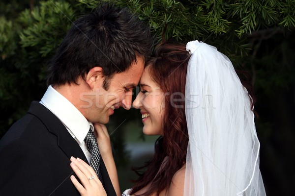 Stock photo: Wedding Couple Love
