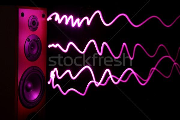 オーディオ スピーカー 効果 スピーカー 木製 ストックフォト © fouroaks