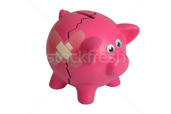 Broken Piggy Bank Stock photo © fouroaks