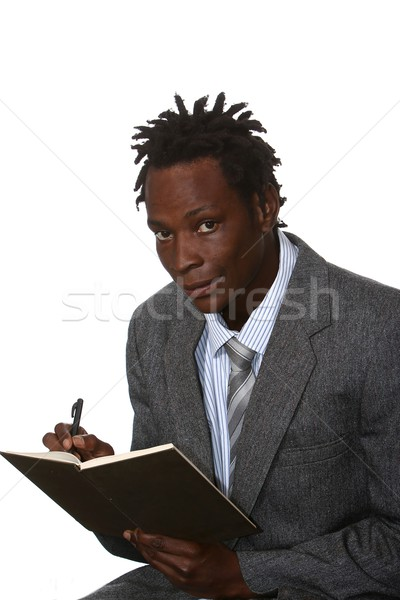 African American Businessman Stock photo © fouroaks