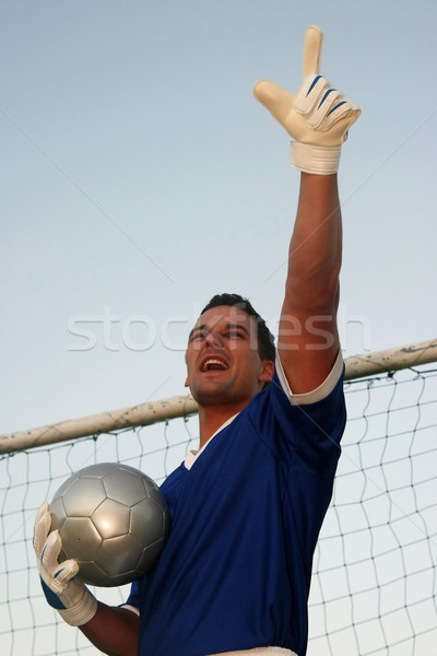 Soccer Goalie Stock photo © fouroaks