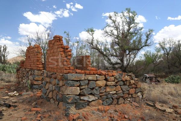 Home Ruin and Rusted Auto Stock photo © fouroaks