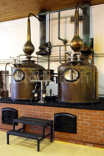 Brandy Copper Potstills Stock photo © fouroaks
