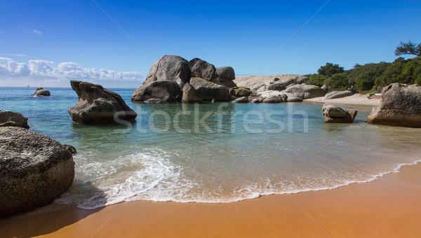 Strand Cape Town mooie zand water landschap Stockfoto © fouroaks