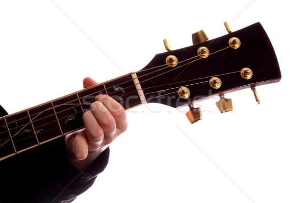 Guitar Chord A Major Stock photo © fouroaks