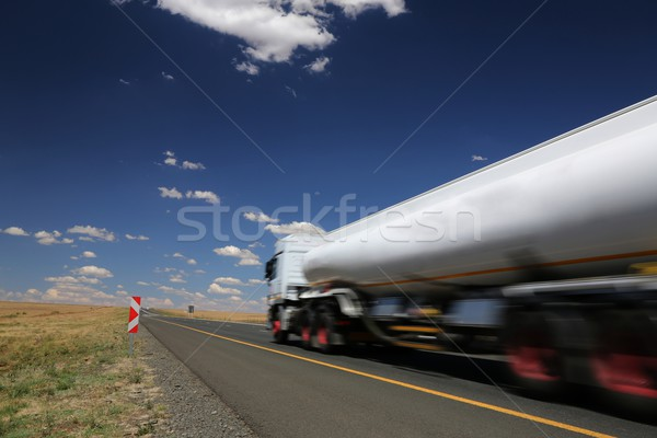 White Tanker Truck Stock photo © fouroaks