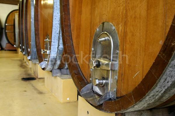 Wine Casks or Barrels Stock photo © fouroaks