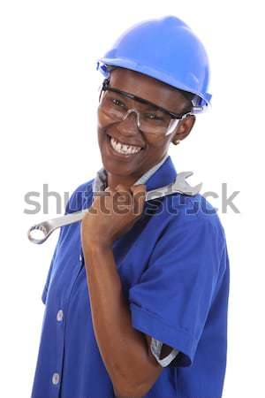 Smiling African Man Stock photo © fouroaks