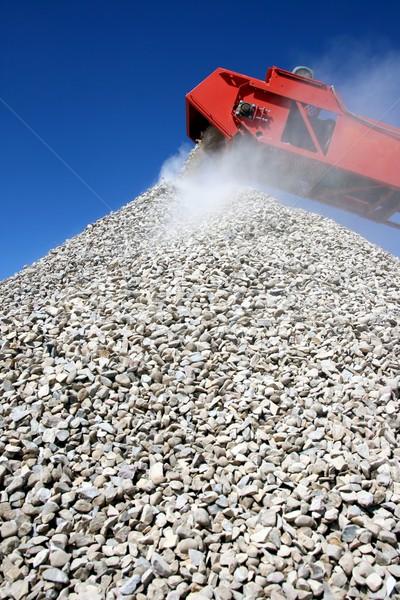 Buiding Stone and Conveyor Stock photo © fouroaks