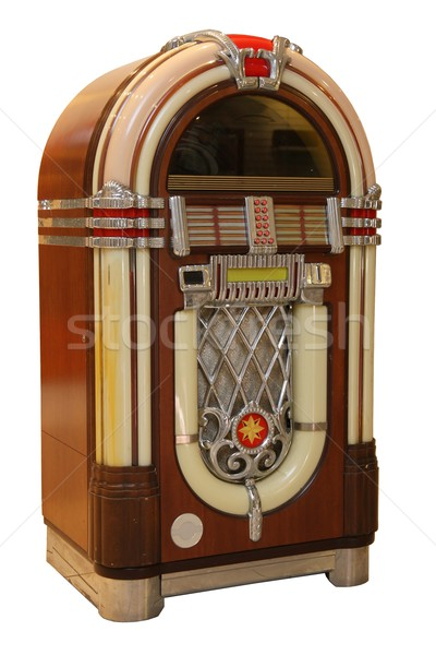 Old Jukebox Music Player Stock photo © fouroaks