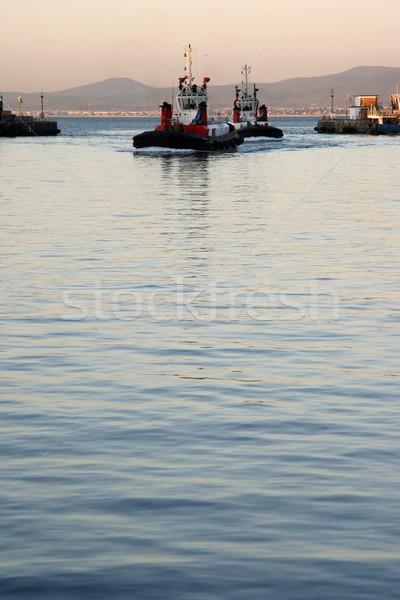 Tug Boats in Habor Stock photo © fouroaks