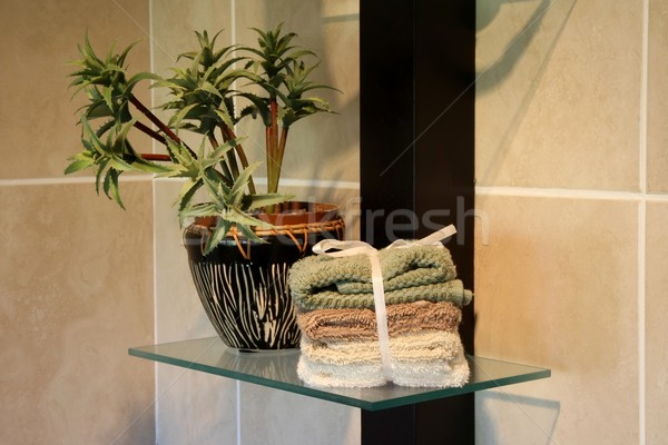 Bathroom Decor Stock photo © fouroaks