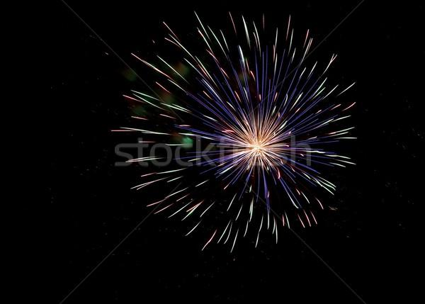Fireworks Display Stock photo © fouroaks