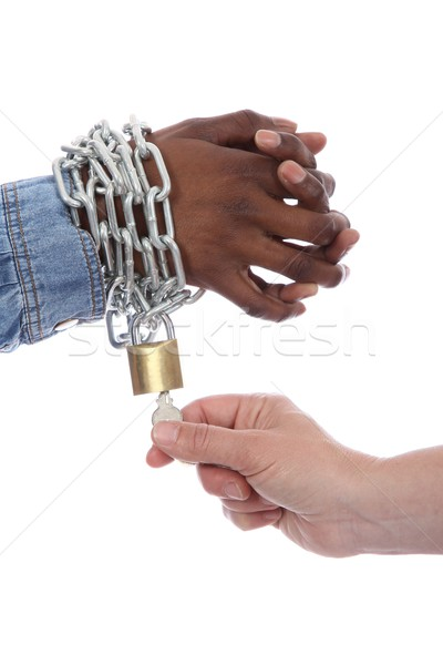 African Freedom Concept Stock photo © fouroaks