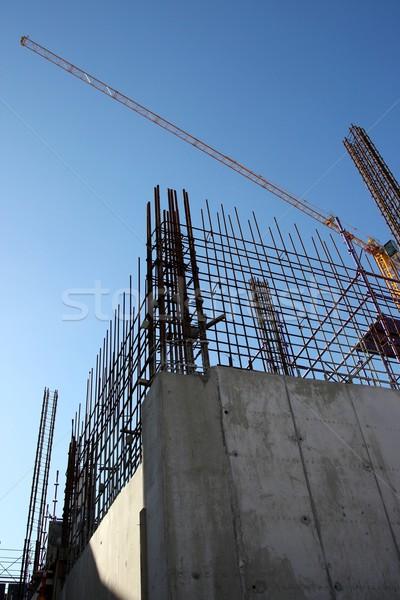 Building Construction Steel and Concrete Stock photo © fouroaks