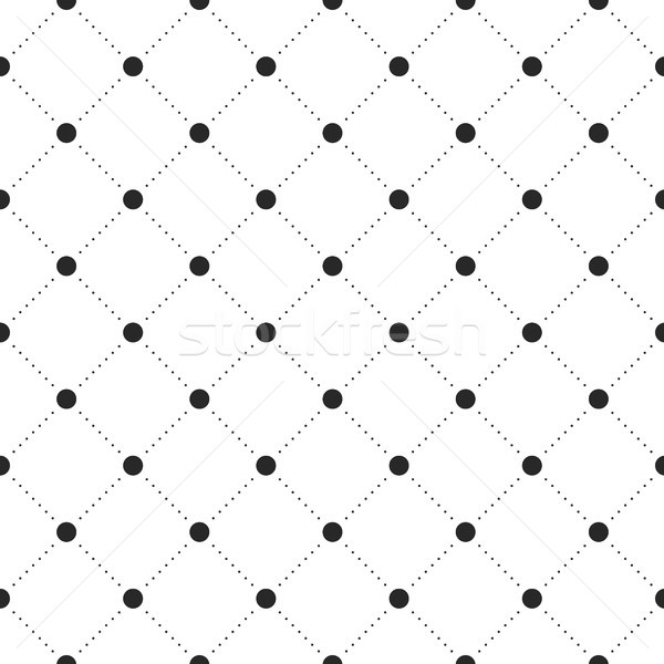 Black veil seamless pattern on white background Stock photo © FoxysGraphic