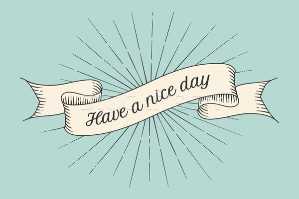 Greeting card with inscription have a nice day vector illustration add to lightbox download comp m4hsunfo