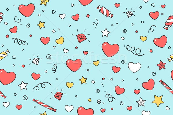 ストックフォト: 心 · バレンタイン · 日 · 愛 · シンボル