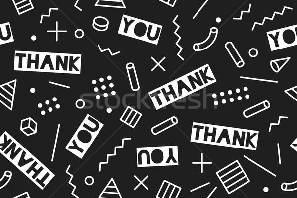 Ação de graças dia sem costura gráfico padrão Foto stock © FoxysGraphic