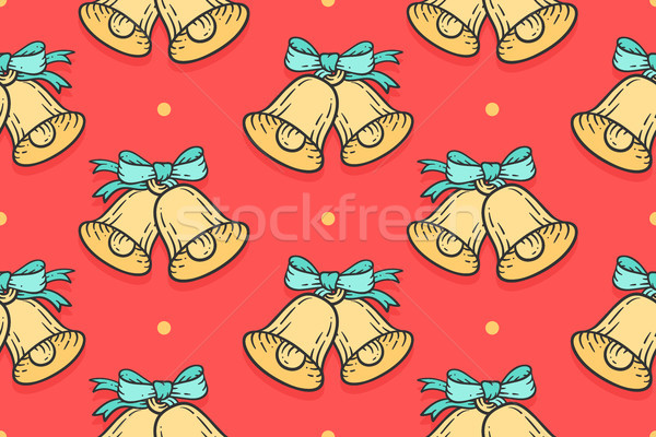 Seamless pattern for Merry Christmas Stock photo © FoxysGraphic