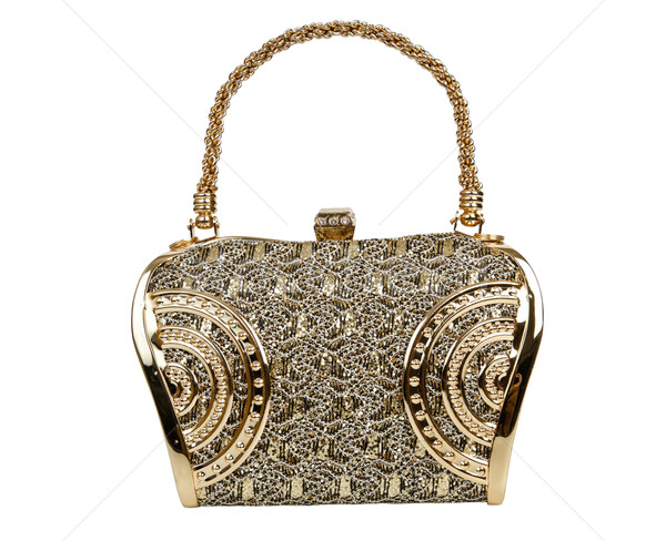 Golden clutch bag  Stock photo © FrameAngel
