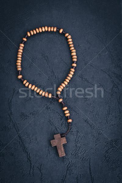 クリスチャン クロス ネックレス 聖なる 聖書 図書 ストックフォト © FrameAngel