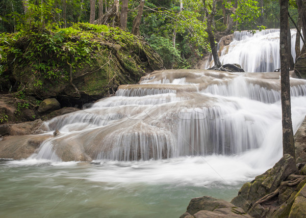 Erawan Waterfall, Kanchanaburi, Thailand  Stock photo © FrameAngel