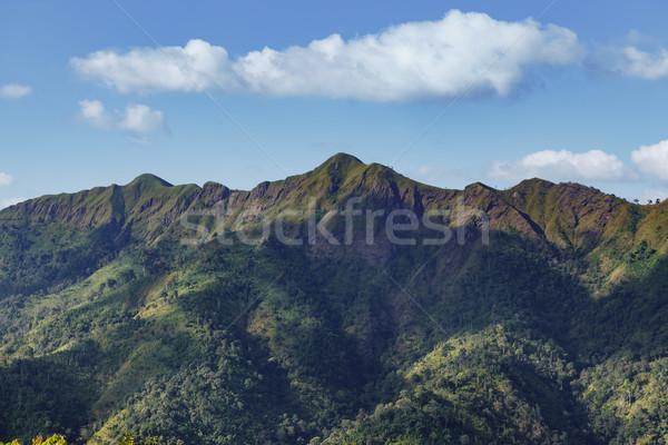 mountains names Khao Chang Phueak at Thong Pha Phum National Par Stock photo © FrameAngel