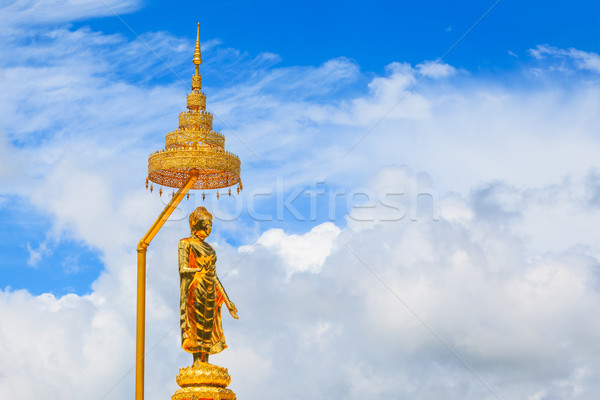 Buddha image and blue sky, Phasornkaew Temple ,that place for me Stock photo © FrameAngel