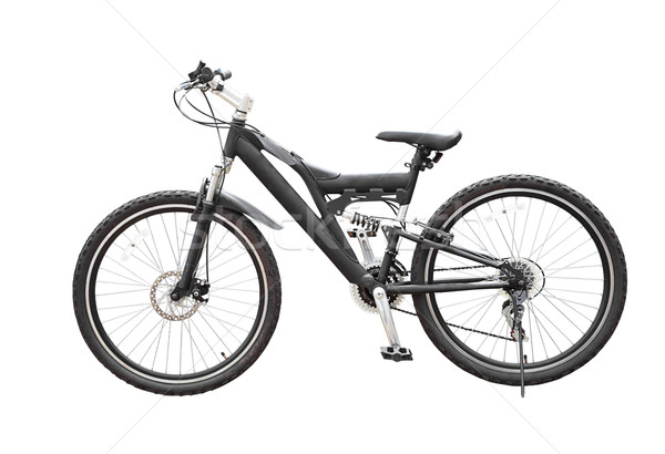 Mountain bicycle bike isolated on white background Stock photo © FrameAngel
