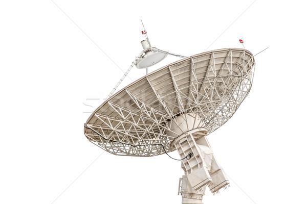Stock fotó: Parabolaantenna · antenna · radar · nagy · méret · izolált