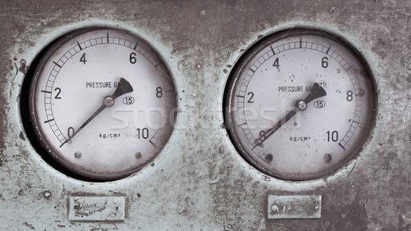 Hızlandırmak tren bağbozumu stil araba Stok fotoğraf © FrameAngel