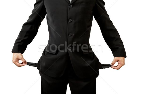 üzletember üres üzlet test háttér előadás Stock fotó © FrameAngel