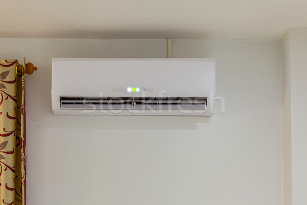air conditioner install on wall for condo or meeting room, power Stock photo © FrameAngel