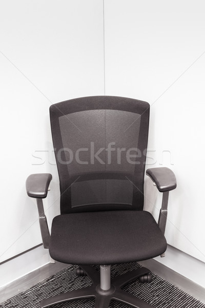 manager chair in the corner, Black color for office or meeting r Stock photo © FrameAngel