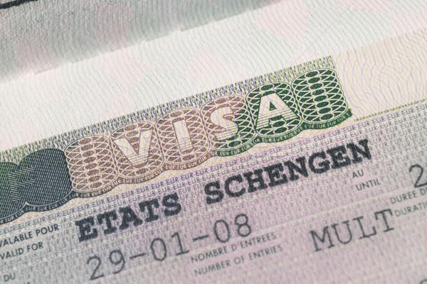 паспорта штампа визы путешествия Париж Франция Сток-фото © FrameAngel