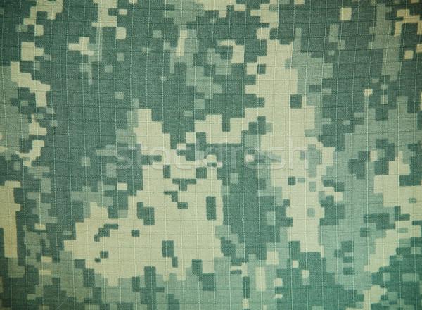 Wojskowych kamuflaż streszczenie tle maska połowów Zdjęcia stock © FrameAngel