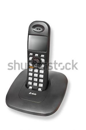 コードレス 電話 孤立した 技術 話し コール ストックフォト © FrameAngel