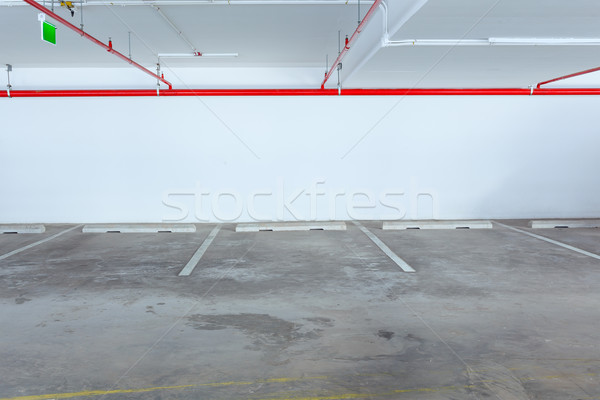 Empty car parking line , can use as background Stock photo © FrameAngel