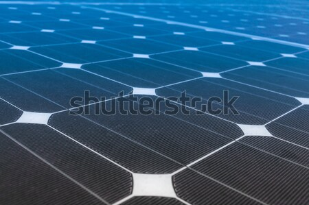 Solar Panels produce power, green energy concept Stock photo © FrameAngel