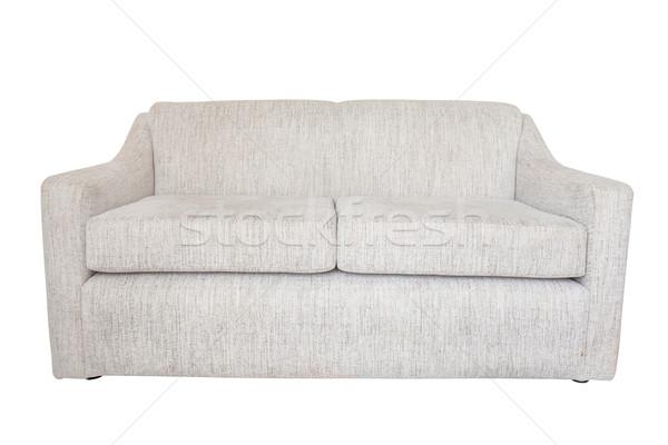 Kanepe yalıtılmış mobilya beyaz arka plan kentsel Stok fotoğraf © FrameAngel