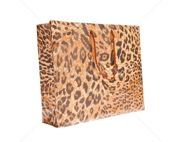 Papier Leopard Jaguar modèle espace Photo stock © FrameAngel